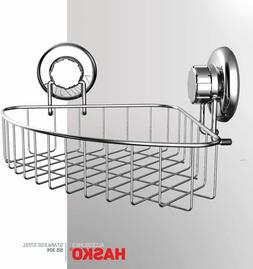 HASKO accessories - Corner Shower Caddy with Suction Cup - S