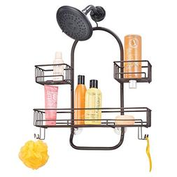 mDesign Extra Wide Metal Wire Tub & Shower Caddy, Hanging St