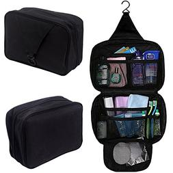 Hanging Travel Organizer Cosmetic Grooming and Toiletry Bag