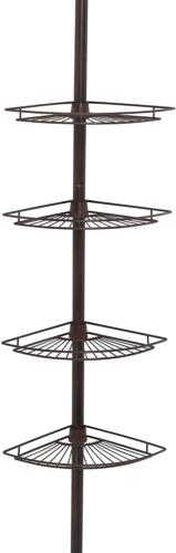 Zenith Products 2114HB Tub and Shower Tension Pole Caddy, 4