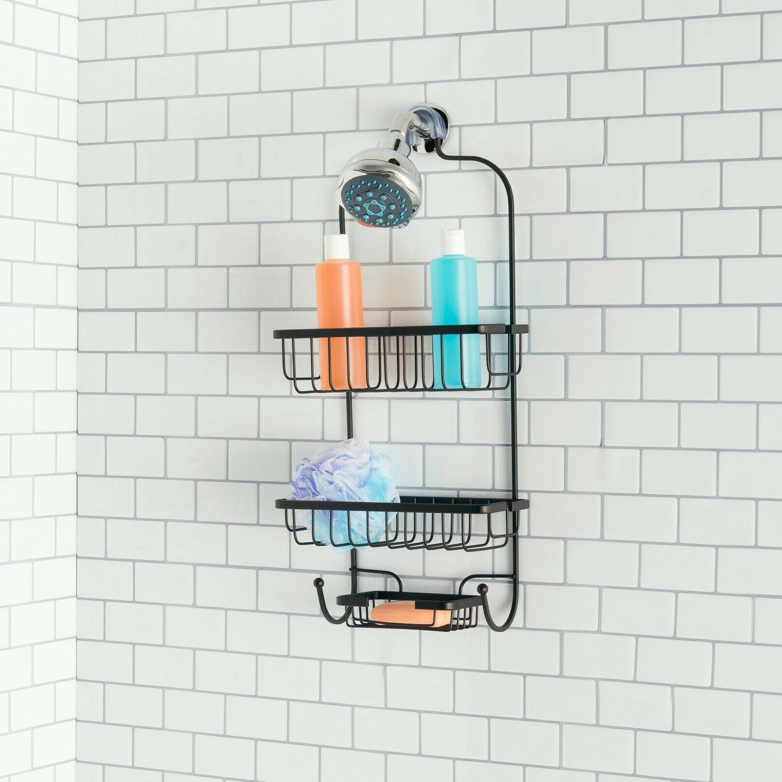 heavyweight shower caddy bronze