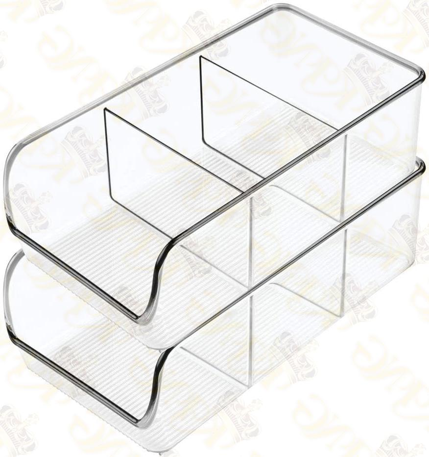 MDesign Plastic Packet Kitchen Caddy Holds Spice 2