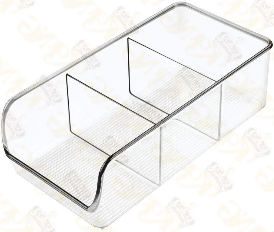 MDesign Plastic Kitchen Caddy Holds 2
