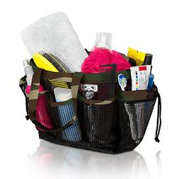 Simply Things Mesh Shower Caddy and Bath Bag Organizer Tote