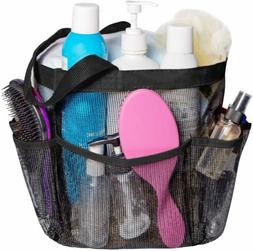 Mesh Shower Caddy Quick Dry Tote Bag Oxford Hanging 8 Storag