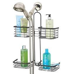 mDesign Metal Hanging Bath and Shower Caddy Organizer for Ha