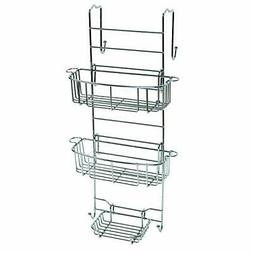 Over the Shower or Tub Door Caddy, Chrome