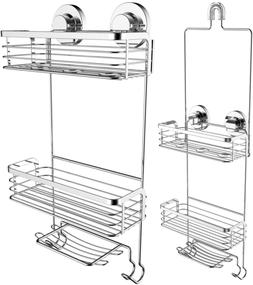 Shower Caddy Dual Installation Hanging Or Mounted Rustproof