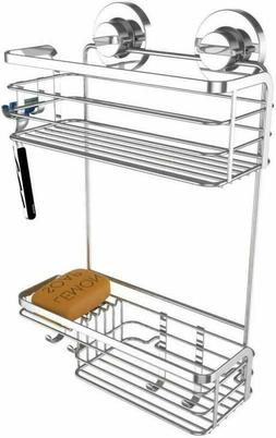 Vidan Home Solutions Shower Caddy | Strong Suction Cup Bathr